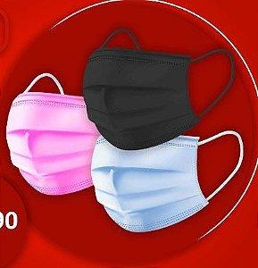 Mascara de descartável Tripla  Tnt  c/ 50 und
