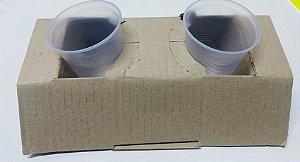 Porta  Copos de papelão capacidade para 2 copos