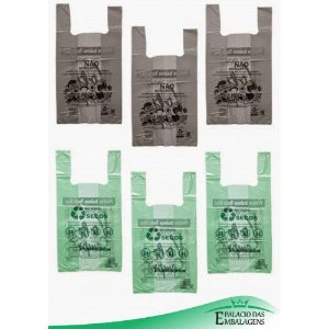 Sacolas Biodegradável 50x70
