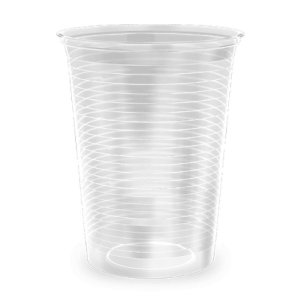 Copo Descatável 50ml transparente - Copobras