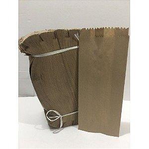 Saco de Papel Kraft de Pão Liso 10kg  Com 500 Unidades