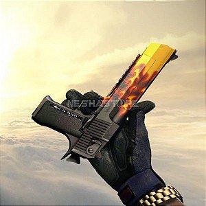 Skin Desert Eagle Chamas FT - Blaze