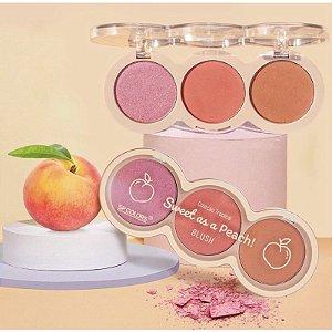 Paleta Blush Sweet as a Peach! SP Colors