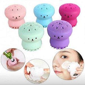 Esponja Facial de Limpeza Polvo
