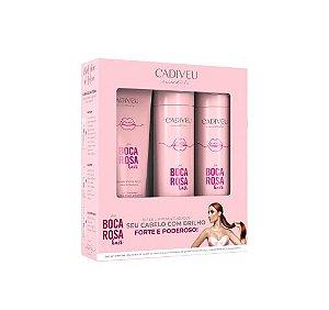 Kit Cadiveu Boca Rosa Hair Essentials