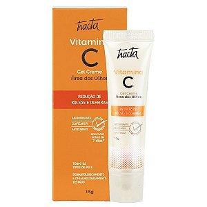 Vitamina C Gel Creme Área dos Olhos Tracta