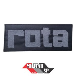 TARJETA DE COLETE (PATCH) ROTA