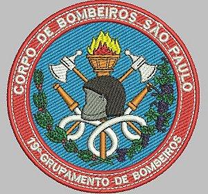 BRASÃO REDONDO 19° GRUPAMENTO DE BOMBEIRO