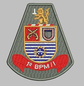 BRASÃO 1 BPM/I (POLICIA MILITAR) PMESP