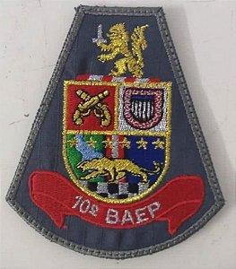 BRASÃO 10 BAEP (POLÍCIA MILITAR)