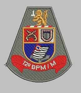 BRASÃO 12 BPM/M POLÍCIA MILITAR