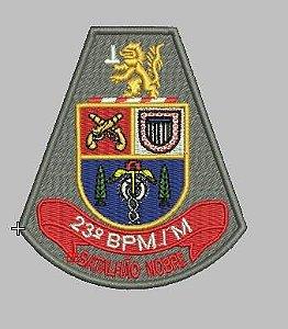 BRASÃO 23 BPM/M POLÍCIA MILITAR