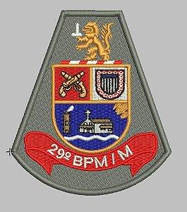 BRASÃO 29 BPM/M POLÍCIA MILITAR