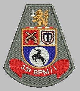 BRASÃO 33 BPM/I POLÍCIA MILITAR