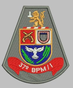 BRASÃO 37 BPM/I POLÍCIA MILITAR