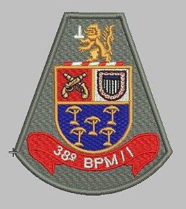 BRASÃO 38 BPM/I POLÍCIA MILITAR