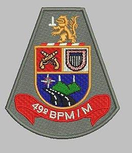 BRASÃO 49 BPM/M POLÍCIA MILITAR