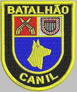 BRASÃO 5°BPCHQ CANIL (POLÍCIA MILITAR - PMESP)