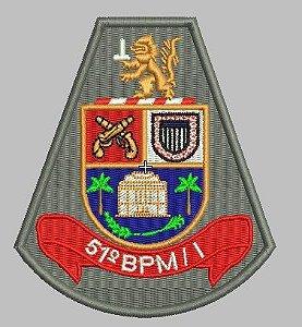BRASÃO 51 BPM/I POLÍCIA MILITAR