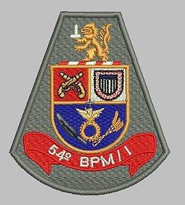 BRASÃO 54 BPM/I POLÍCIA MILITAR