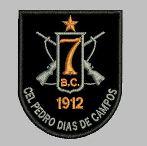 BRASÃO 7 BPM/I POLÍCIA MILITAR