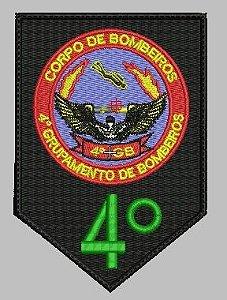 BRASÃO 8 GRUPAMENTO DE BOMBEIRO / FAZEMOS DE QUALQUER BATALÃO