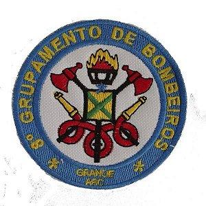BRASÃO 8 GRUPAMENTO DE BOMBEIRO SANTO ANDRÉ (BORDADO MILITAR)