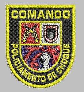 BRASÃO COMANDO DE POLICIAMENTO CHOQUE / CPCHQ