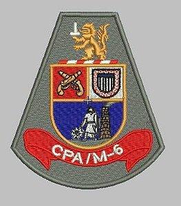BRASÃO CPA M-6 POLÍCIA MILITAR