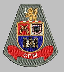 BRASÃO CPM (POLÍCIA MILITAR) COMANDO DE POLICIAMENTO METROPOLITANO
