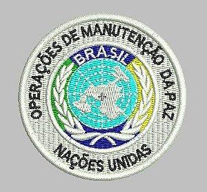 BRASÃO ONU MANUTENÇÃO DA PAZ