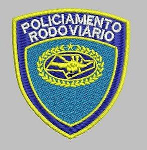 BRASÃO POLICIAMENTO RODOVIARIO