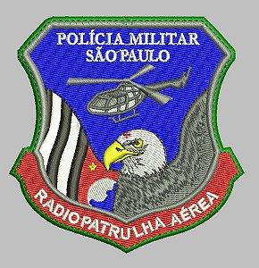 BRASÃO RÁDIO PATRULHA AÉREA (POLÍCIA MILITAR)
