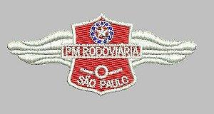 BREVE POLÍCIA RODOVIÁRIA (BORDADO MILITAR)