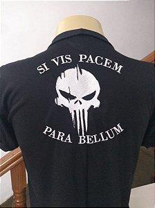 CAMISETA JUSTICEIRO - SI VIS PACEM PARA BELLUM