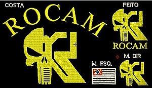 CAMISETA ROCAM CAVEIRA