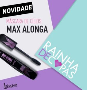 Máscara de Cílios Max Alonga - Luisance