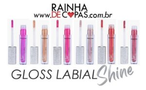 Gloss Labial Shine - Ruby Rose