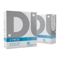 Agulhas Auriculares - X Press - Cx C/ 50 Un - Dux Acupuncture