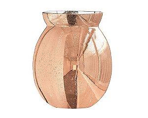 Vaso cobre em Vidro P