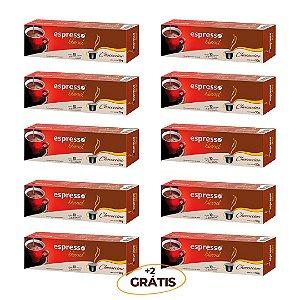 kit Promocional 100 cápsulas de chococcino + 20 grátis  compatível Nespresso