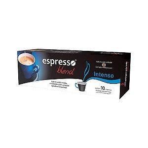 Cápsulas de café Intenso com 10 unidades compatível Nespresso