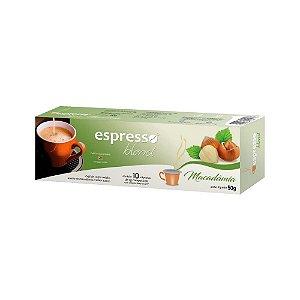 Cápsulas de café aroma Macadâmia com 10 unidades