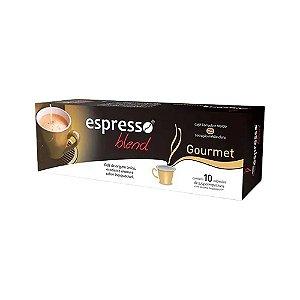 Cápsulas de café  Gourmet com 10 unidades