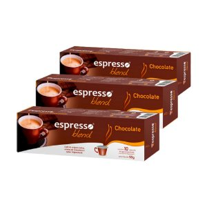 30 cápsulas aroma chocolate