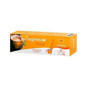Cápsulas de café aroma Laranja com 10 unidades compatível Nespresso