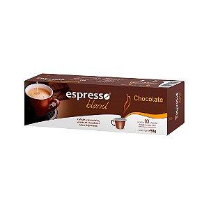 Cápsulas de café aroma Chocolate com 10 unidades compatível Nespresso