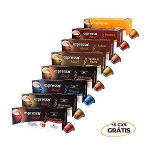 Kit VIP 300 cápsulas de café sortidos + 50 grátis Promocional