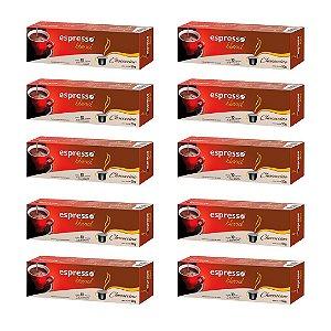 Kit 100 cápsulas de café chococcino + 20 grátis compatível Nespresso