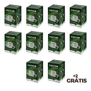 KIt 100 cápsulas de Chá verde + 20 grátis compatível Nespresso